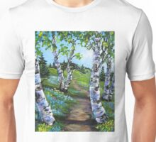 A walk into Spring Unisex T-Shirt