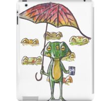 Froggy weather iPad Case/Skin