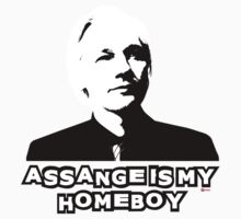 Assange is my Homeboy by KISSmyBLAKarts