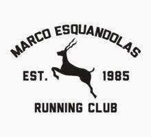 Marco Esquandolas Running Club by Jonny Cottone