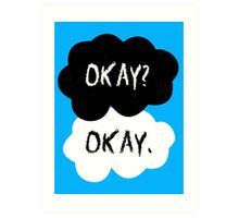 The Fault In Our Stars - Okay Art Print