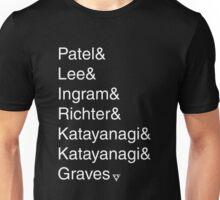 Seven Evil Exs Unisex T-Shirt