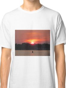 Sunset At Wrightsville Beach Classic T-Shirt