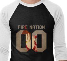 Fire Nation Azula Men's Baseball ¾ T-Shirt
