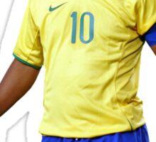 Ronaldinho with Brazil Sticker