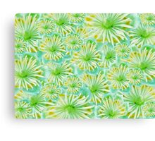 The green flowers  Canvas Print