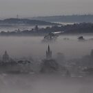 Petersfield, through the mist by Caroline Anderson