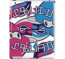 Squid Squad! iPad Case/Skin