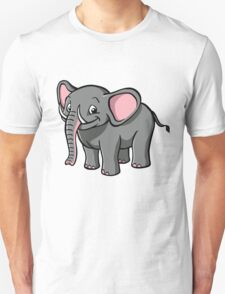 Cartoon elephant Unisex T-Shirt