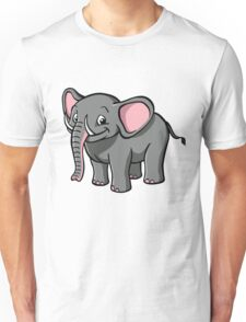 Cartoon elephant Unisex T-Shirt
