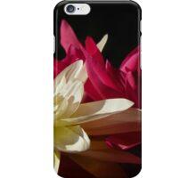 Pink & White Silks iPhone Case/Skin