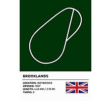 Brooklands Photographic Print
