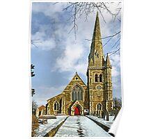St John's Church, Horninglow, Burton on Trent Poster