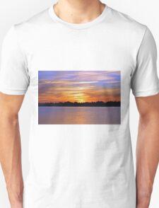 Orange & Blue Sunset T-Shirt