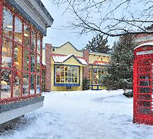 Christmas in Quebec II by Wanda Dumas