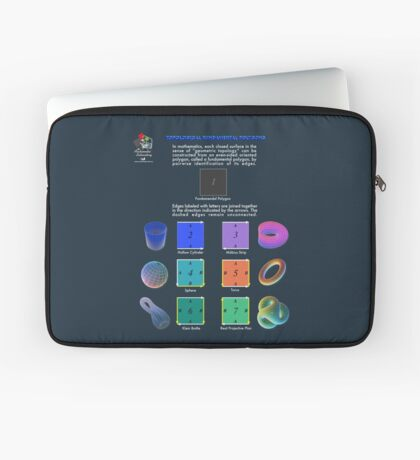 Topological Fundamental Polygons Laptop Sleeve