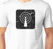 Square-Communications-Black Unisex T-Shirt