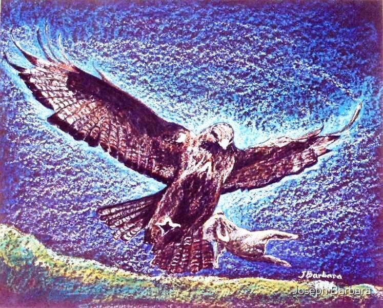 Hunting Eagle by Joseph Barbara