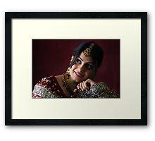Wedding Portrait Framed Print