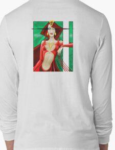 Red Queen Full Back Long Sleeve T-Shirt