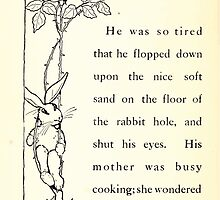 The Tale of Peter Rabbitt Beatrix Potter 1916 0056 So Tired by wetdryvac