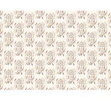 Dreamcatcher seamless pattern Photographic Print
