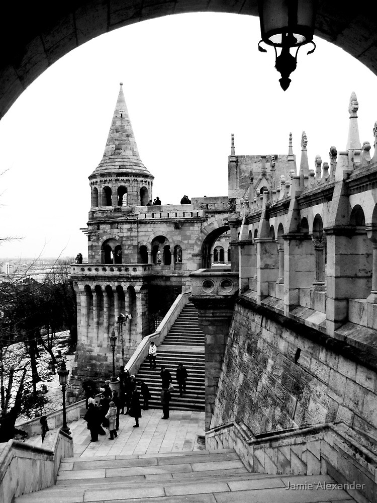 Budapest in Black and White by Jamie Alexander