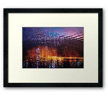 Beauty of a Night Framed Print
