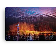 Beauty of a Night Canvas Print