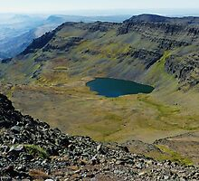 Wildhorse Lake Elevation 8,400 Feet - Steens Mountain, Harney County, OR by Rebel Kreklow