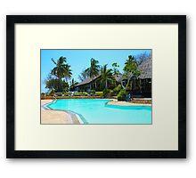 Diani Beach Resort in Mombasa, Kenya Framed Print