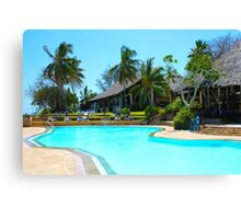 Diani Beach Resort in Mombasa, Kenya Canvas Print