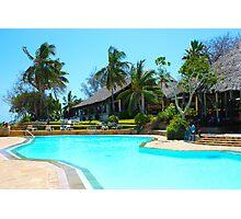 Diani Beach Resort in Mombasa, Kenya Photographic Print