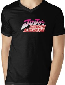 JoJo's Bizzare Adventure Mens V-Neck T-Shirt