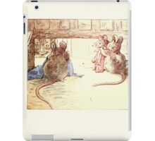 The Tailor of Gloucester Beatrix Potter 1903 0069 Mice Sewing and Sizing iPad Case/Skin