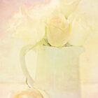 Marshmallow Roses by inkedsandra