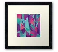 Geometric Abstraction Framed Print