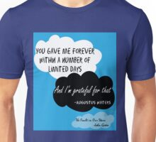 Cute The Fault in Our Stars Poster Unisex T-Shirt