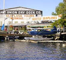 Lake Union Seaplanes by Mike Cressy