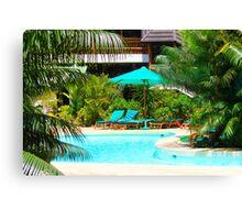 Travellers Club Resort in Mombasa, KENYA Canvas Print