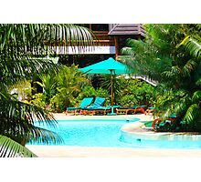 Travellers Club Resort in Mombasa, KENYA Photographic Print
