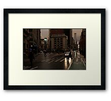 broadway, dec. 2010 Framed Print