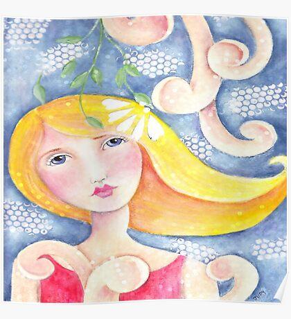 Whimsy Girl Poster