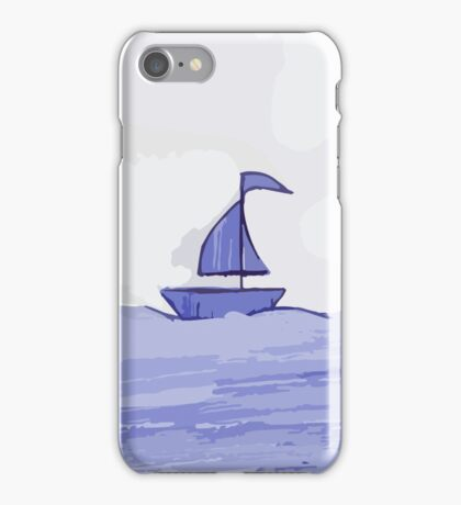 Sail the sea iPhone Case/Skin