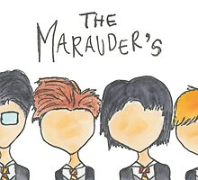 The Marauder's by sammybaxterart