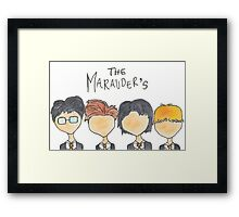 The Marauder's Framed Print