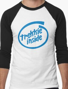Trekkie Inside Men's Baseball ¾ T-Shirt