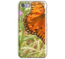 Flash of Color - Gulf Fritillary iPhone Case/Skin