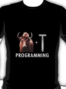 Programming = Yak Shaving T-Shirt
