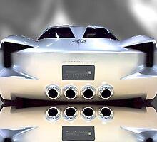 Stingray Concept - Rear View by Stephen Warren